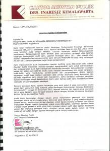 AAUDIT 2012-pernyataan
